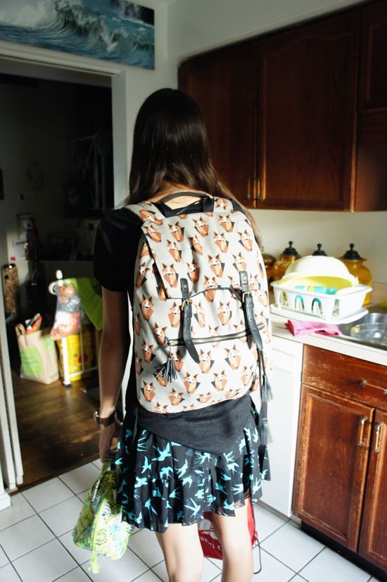 New backpack. I give it a month.