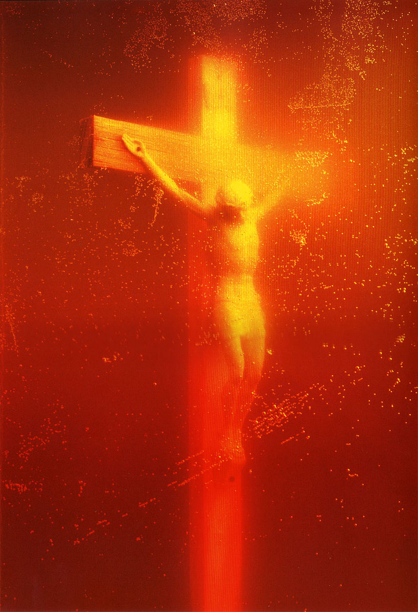 Piss Christ, 1987 photograph by Andres Serrano
