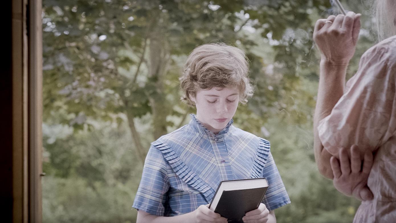 Sophia selling bibles.jpg