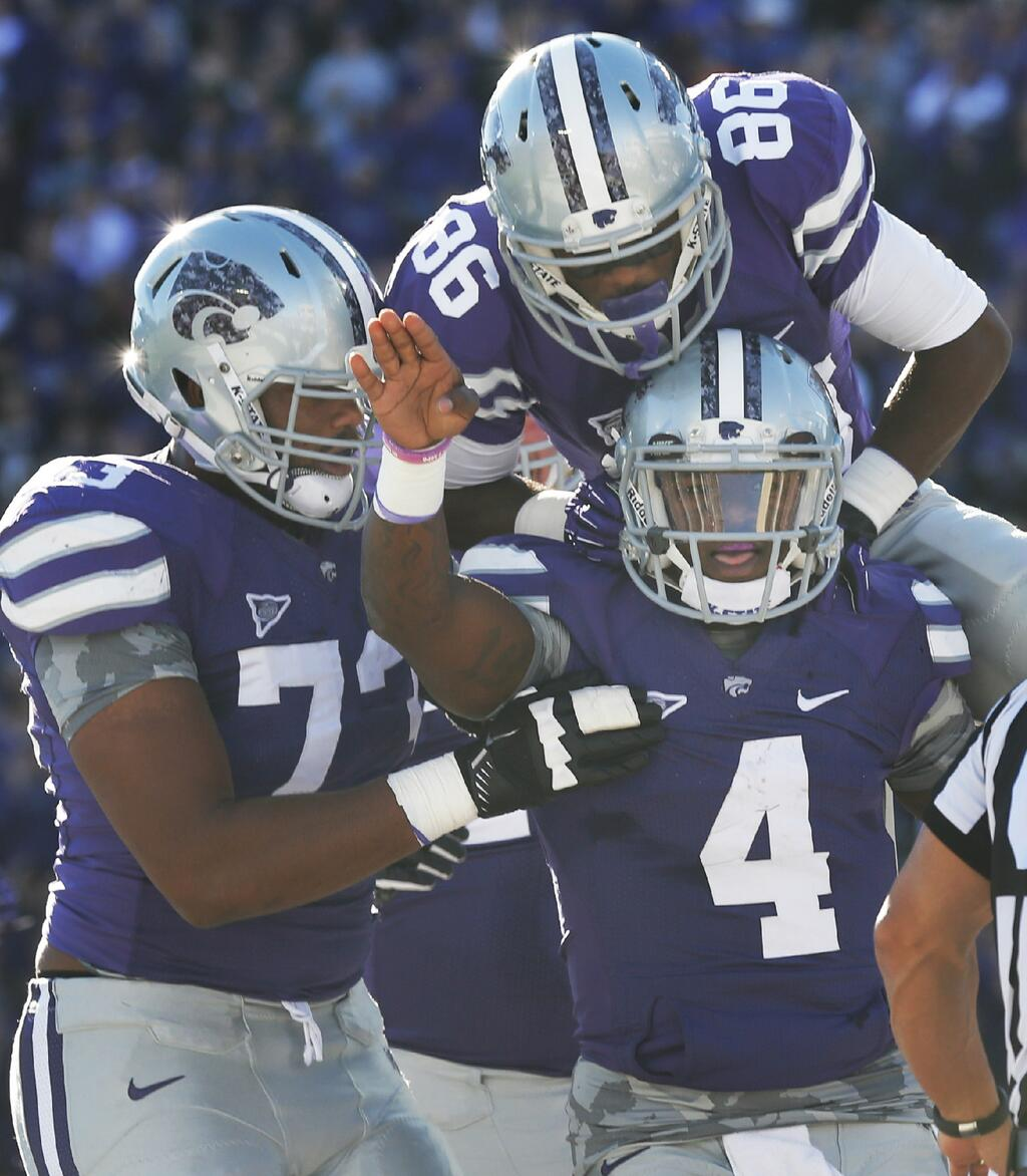 Subtle camo theme for K-State.