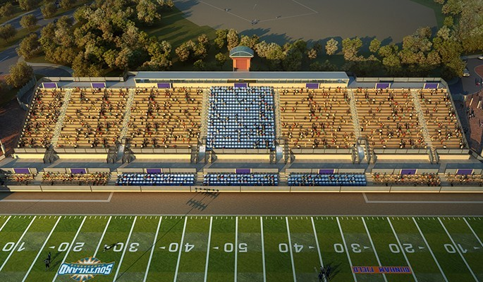 Look guys, new stadium!