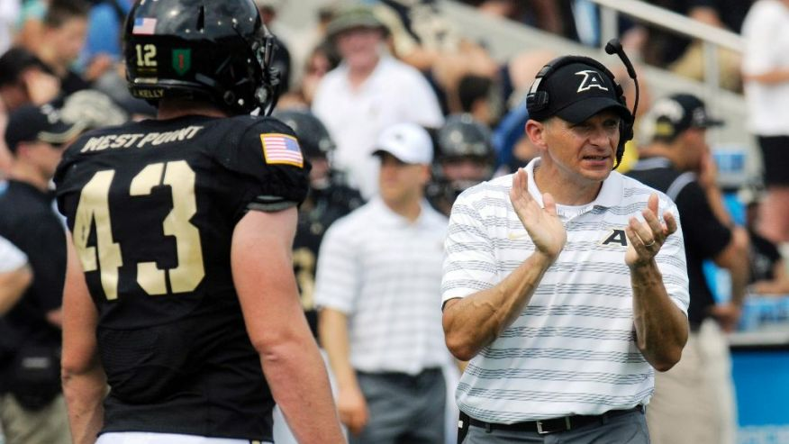 Jeff Monken: Out for revenge.