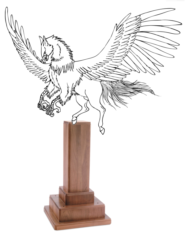 Behold the Hippogriff Trophy!