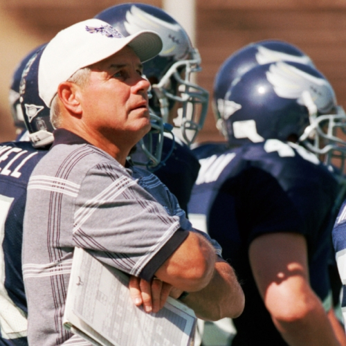 Rice coach Ken Hatfield