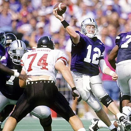Tech vs. Kansas State in the first Big 12 Game ( Damian Strohmeyer )