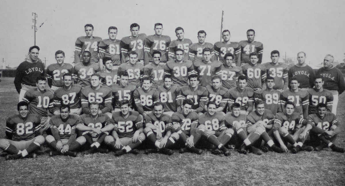 The 1950 Loyola Lions