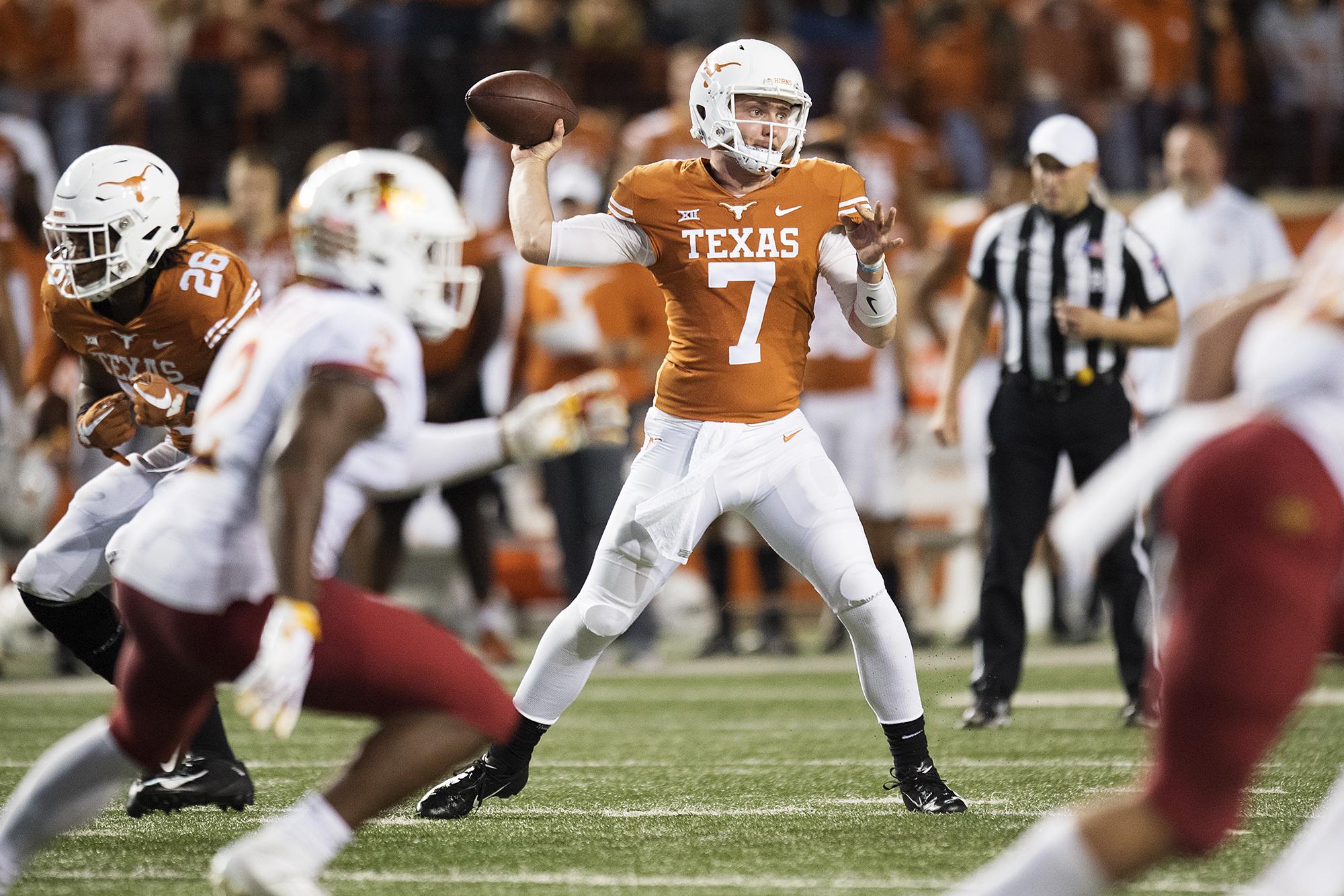 Shane Buechele  texassports.com