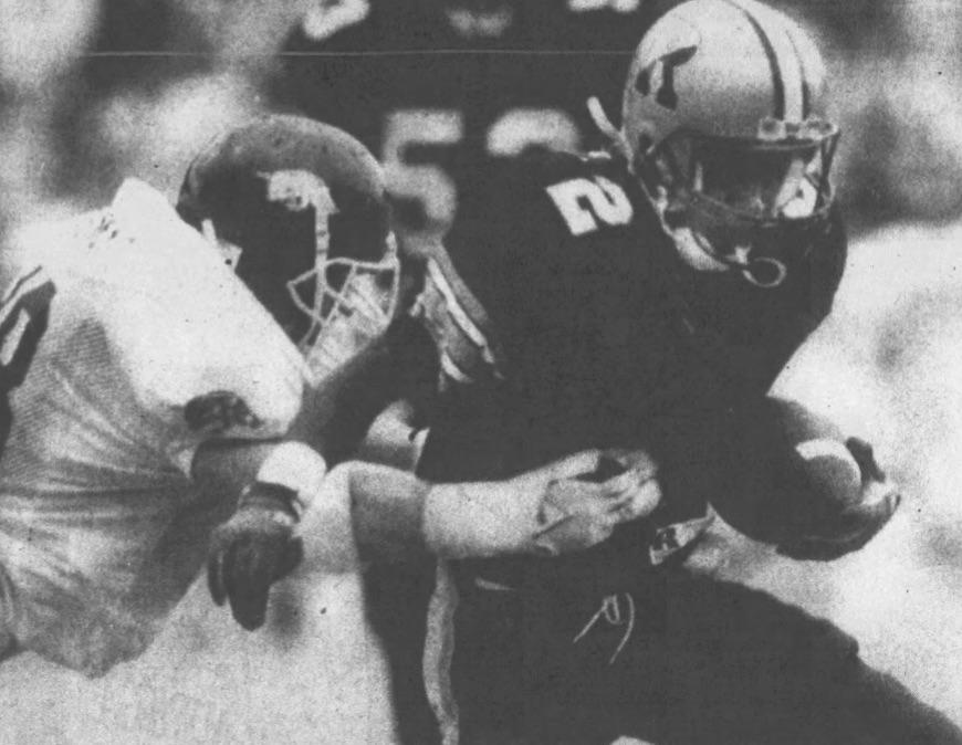 Henley vs. Arkansas in 1989.