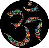 Om: the sound of the universe, a symbol of interconnectedness of the mind, body and spirit.