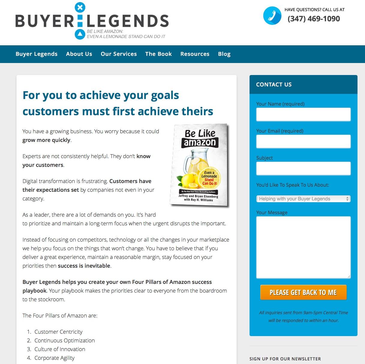 Buyer Legends