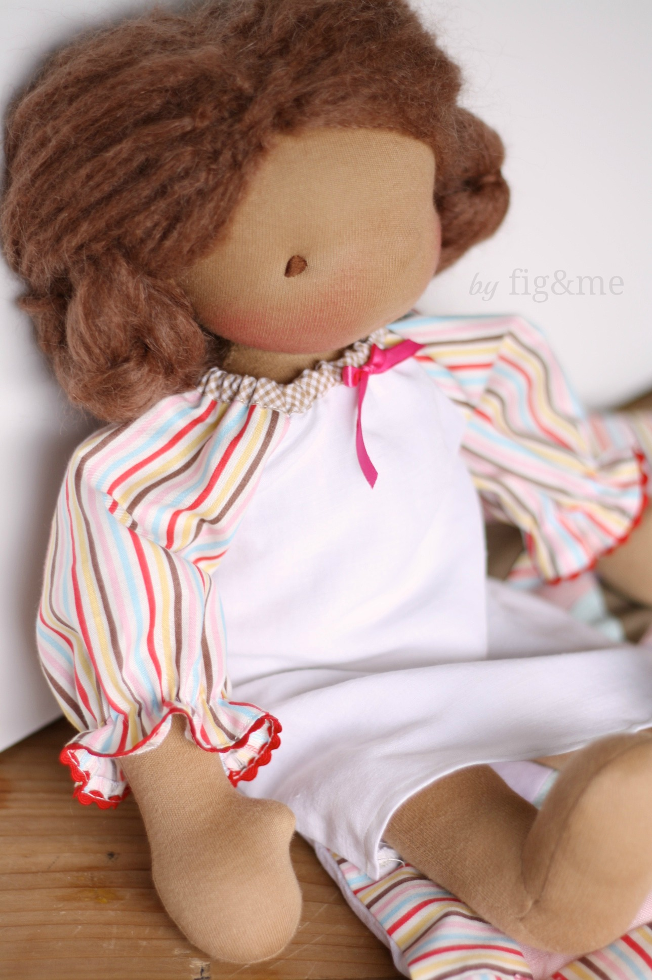 Doll nightgown, by fig and me