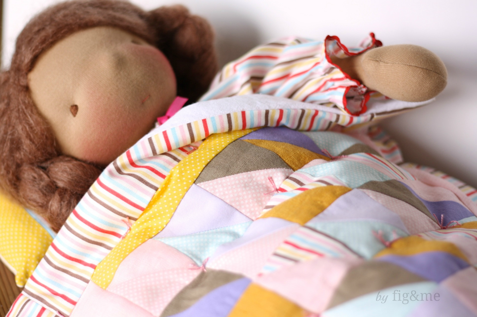 A sleeping Carlotta, by fig and me.