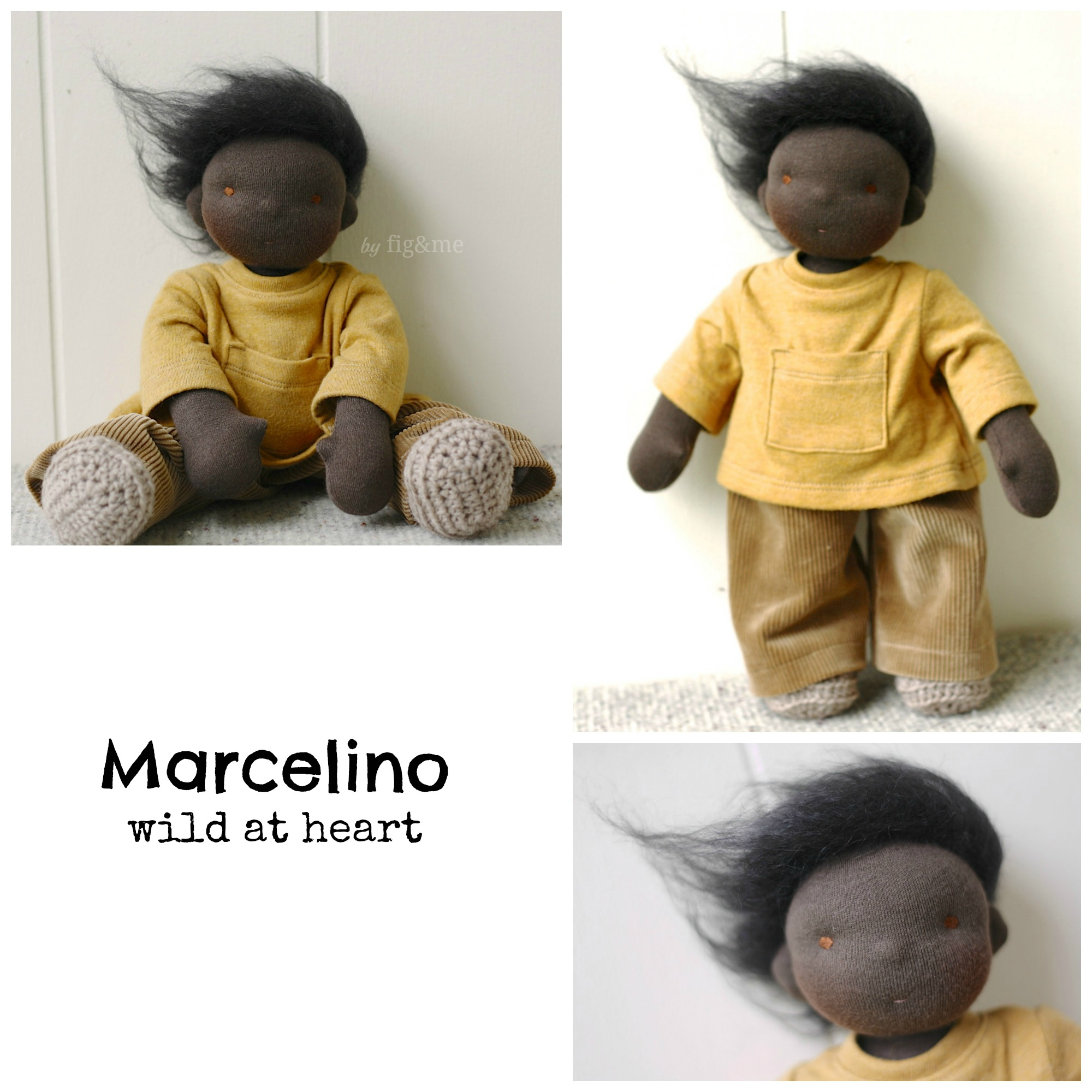 Marcelino, wild at heart. By Fig and me.