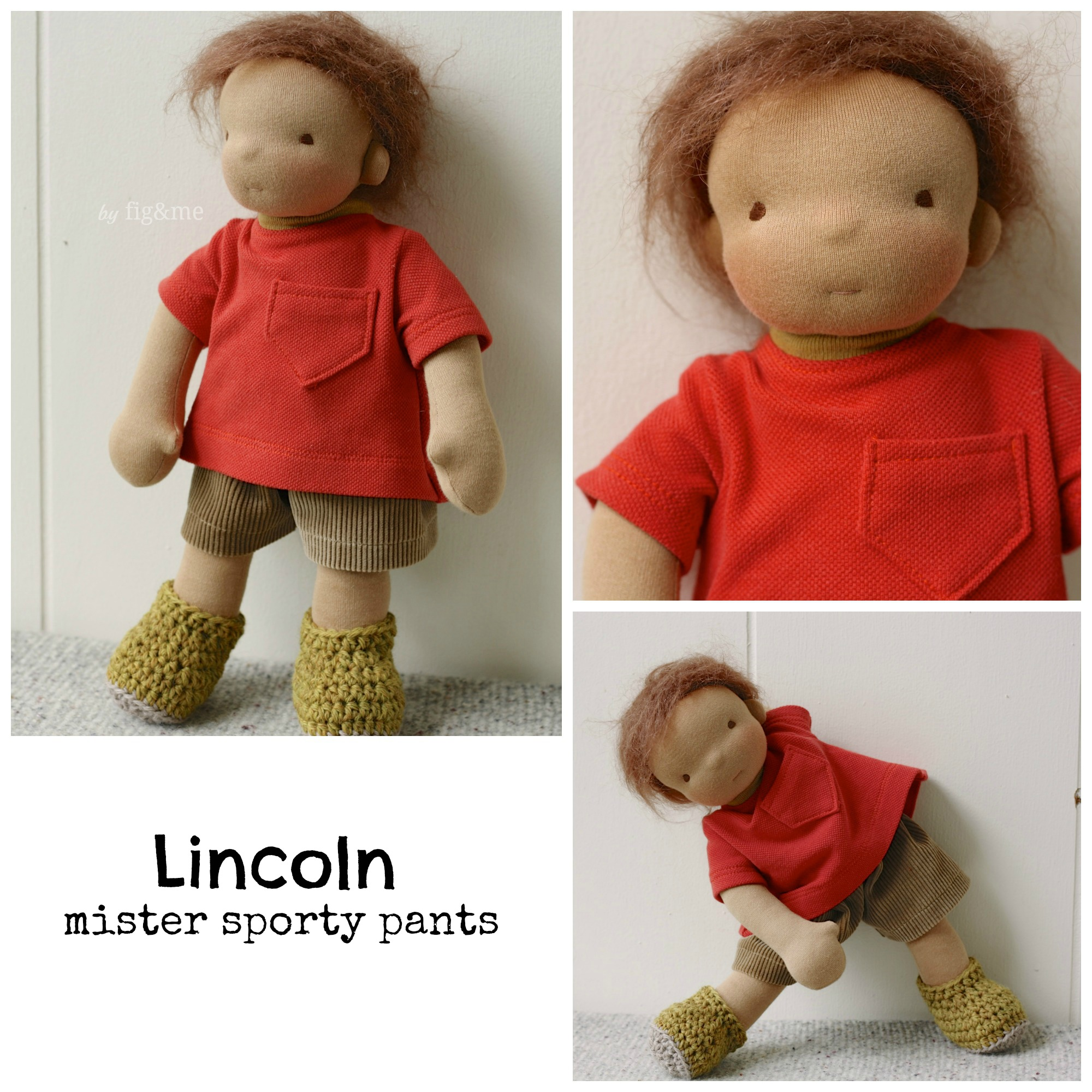 My little Lincoln, by Fig and me.