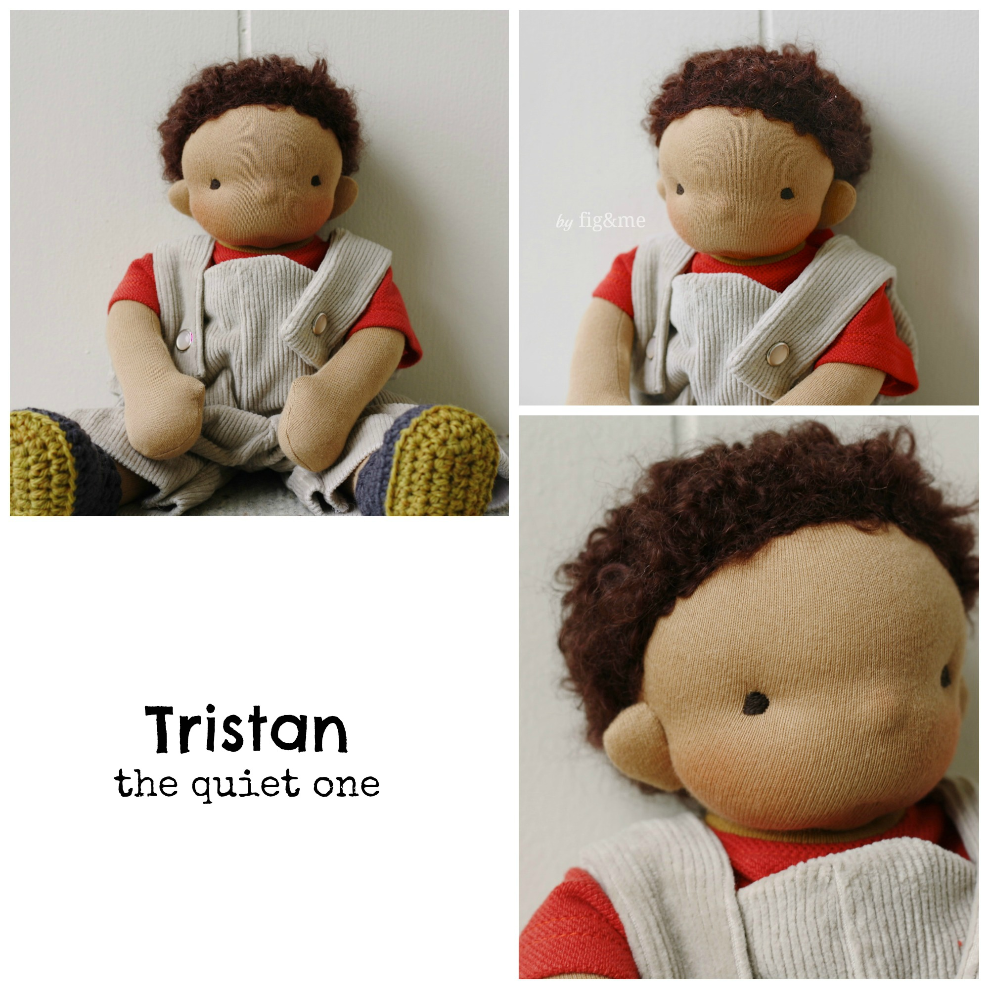 Sweet Tristan, by Fig and me.