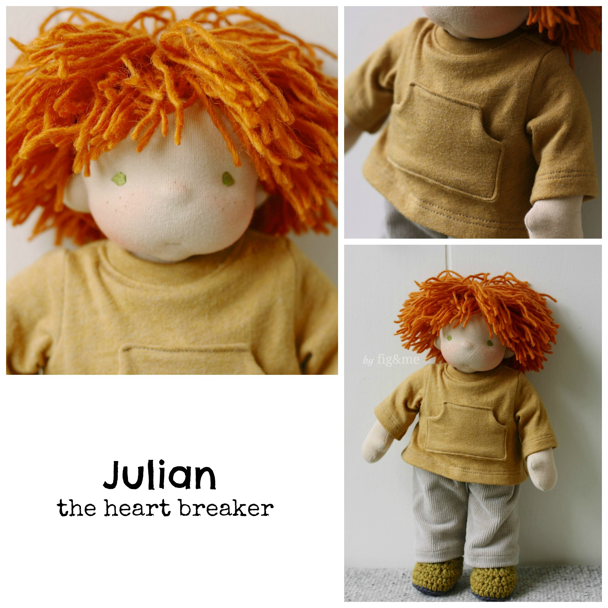 Little Julian, by Fig and me.