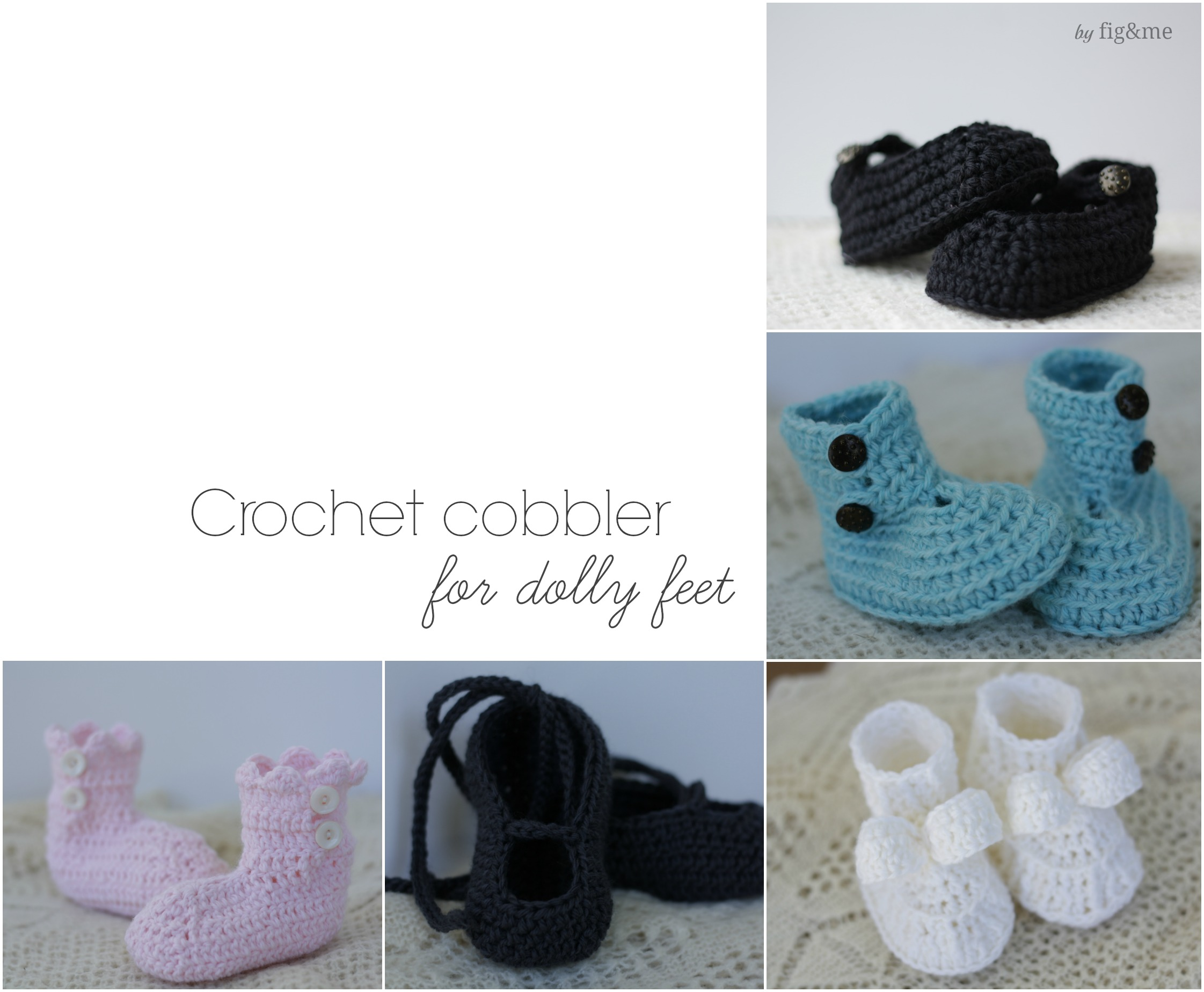 The doll cobbler, by Fig&me.
