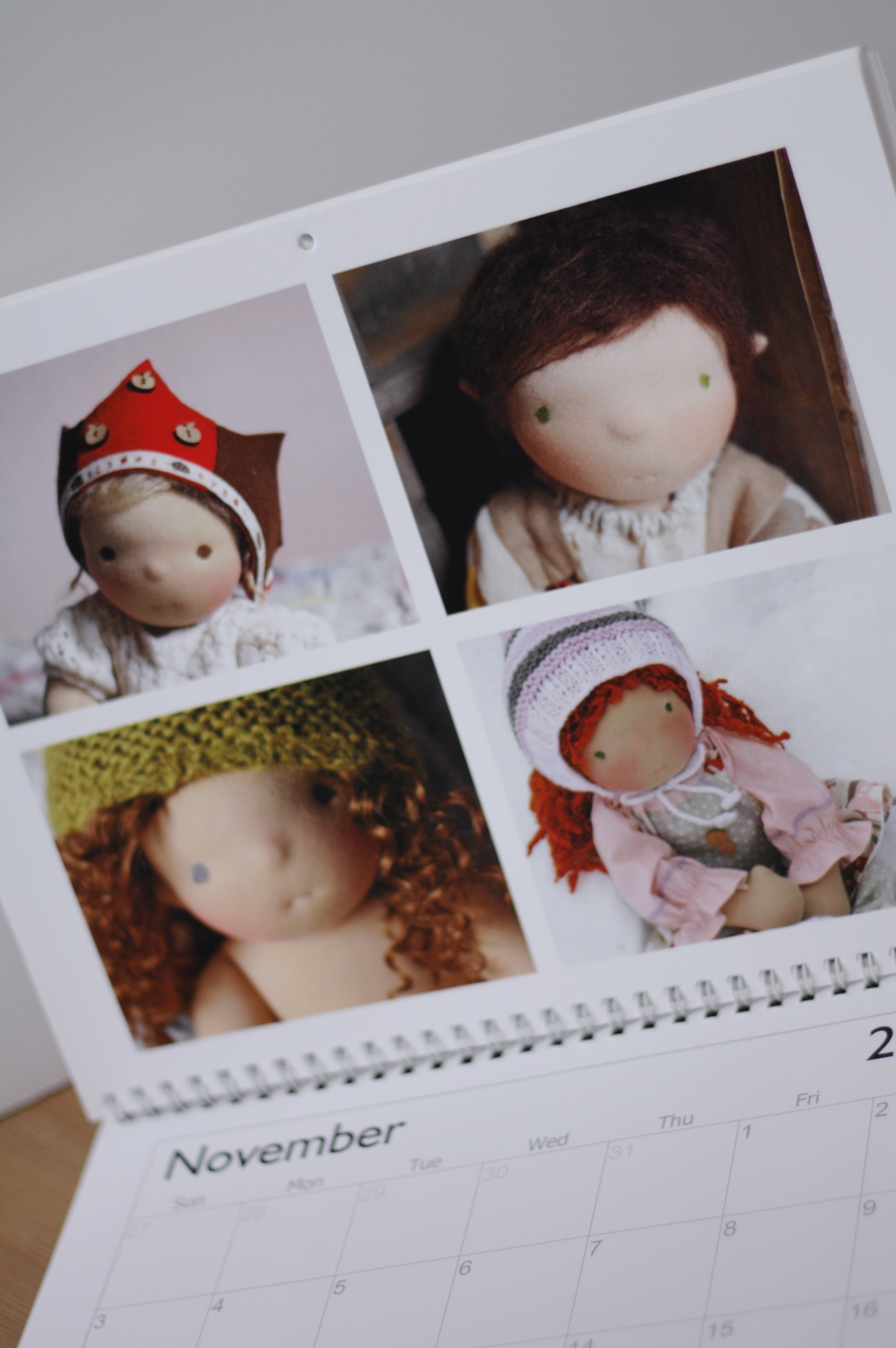 Fig and me calendar Giveaway.