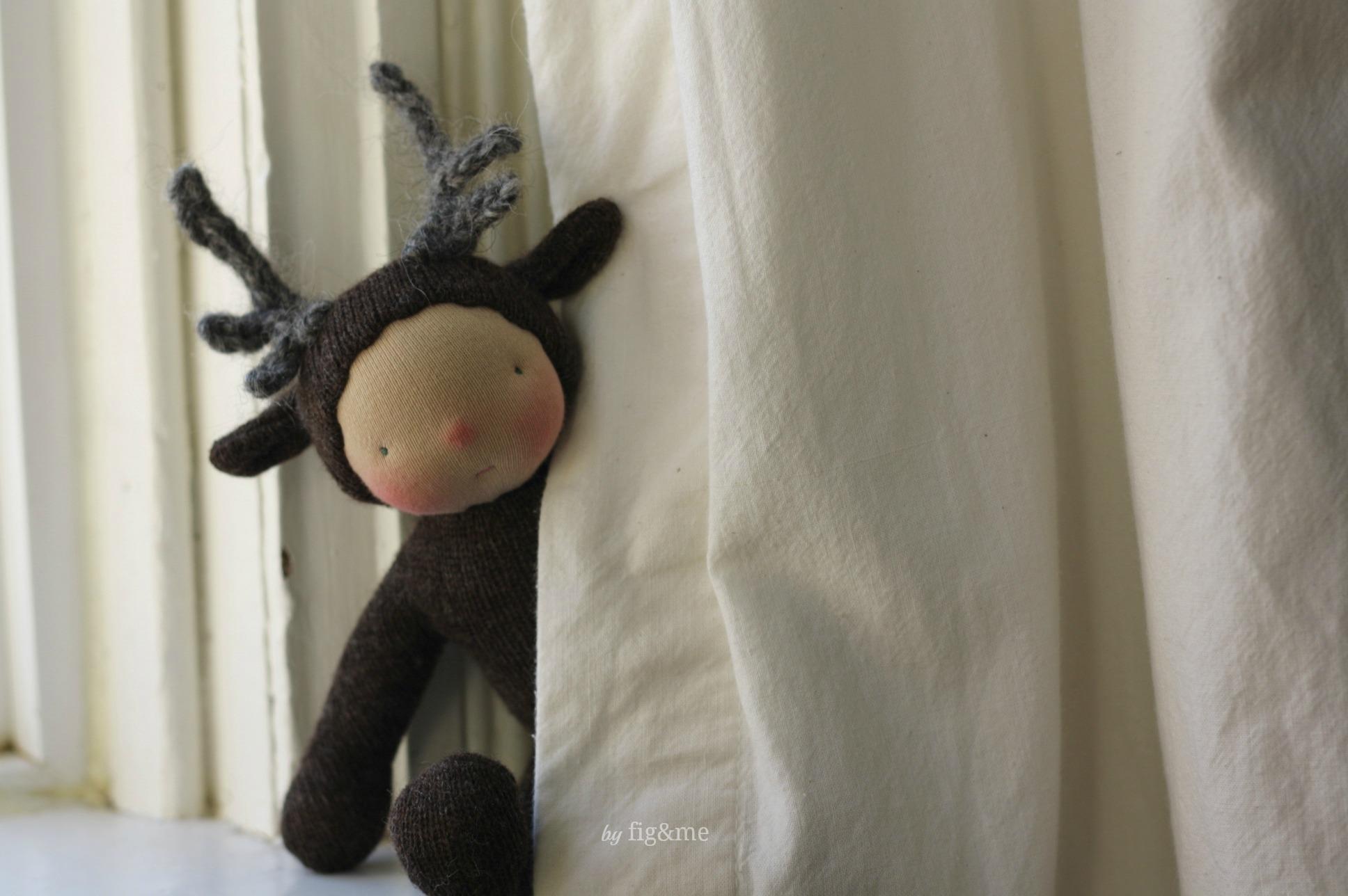My Wee Baby Reindeer, by Fig&me.