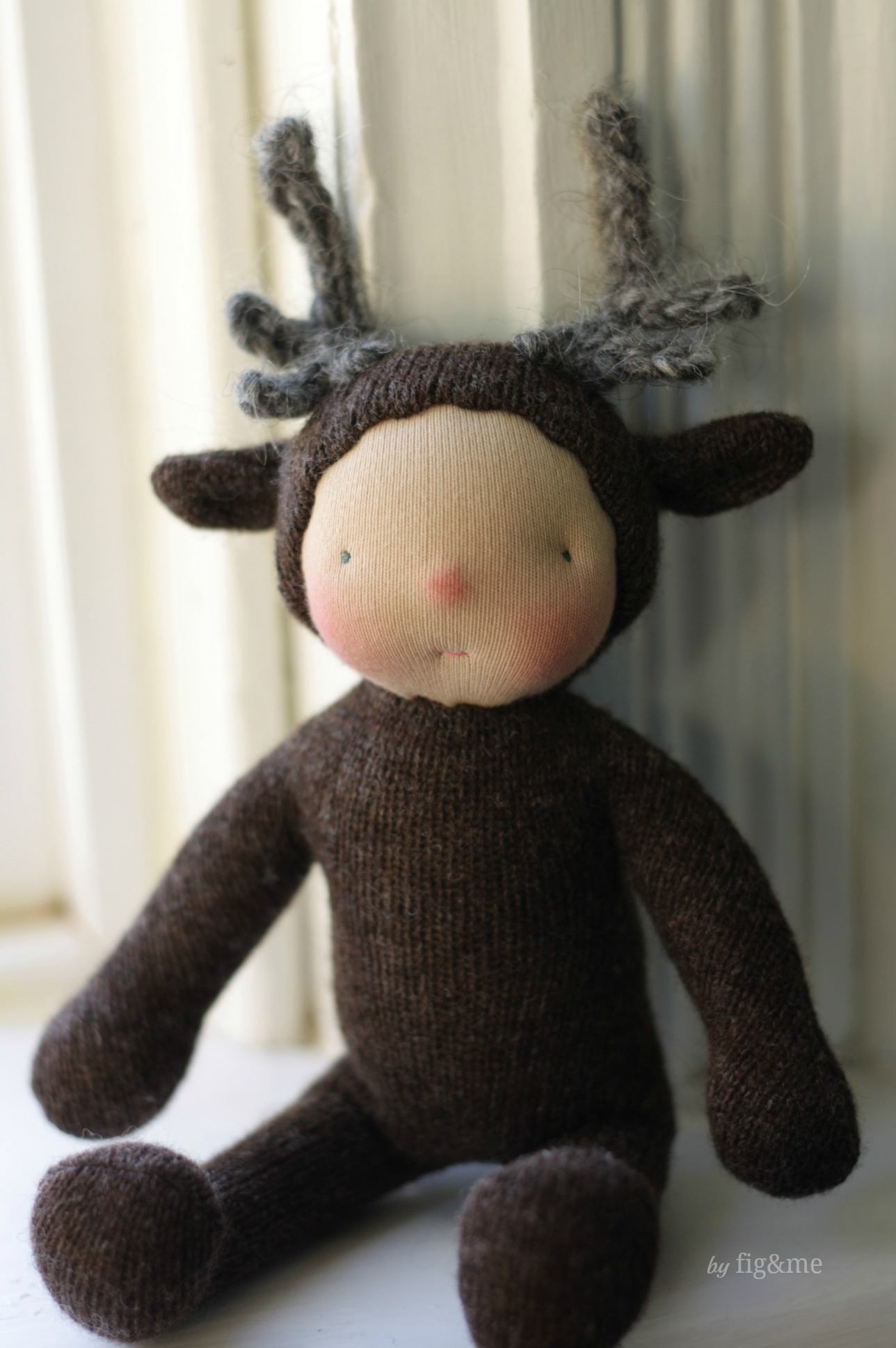 Little Reindeer Baby, by Fig&me.