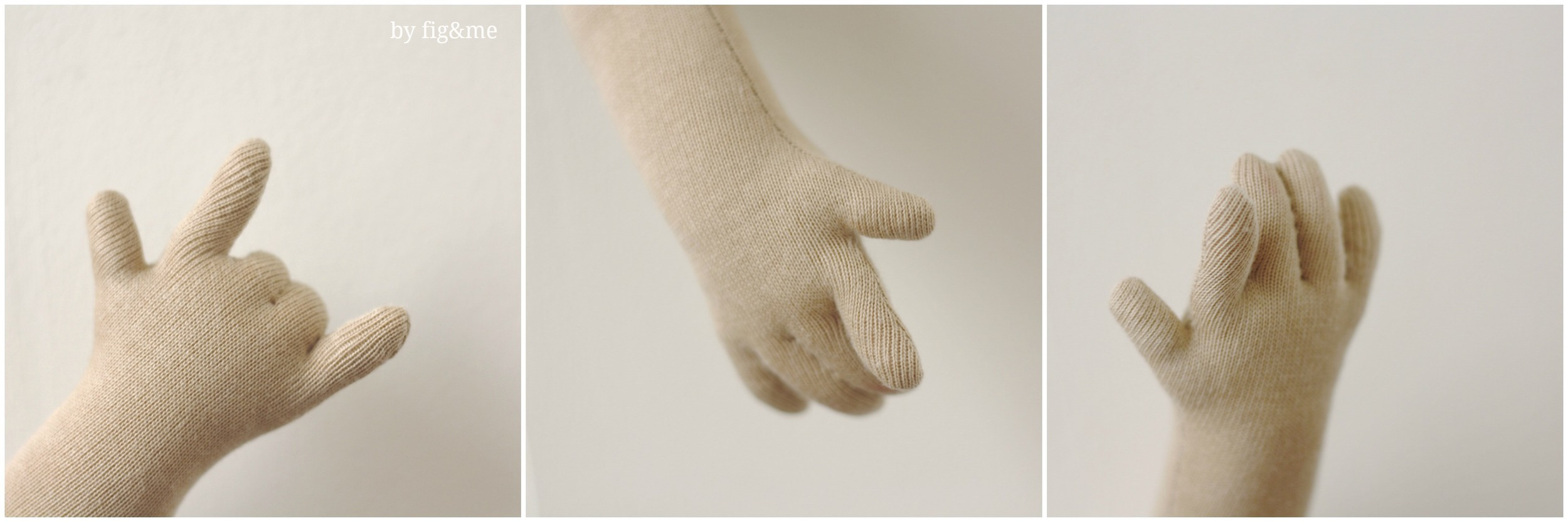 The hands of a little doll, by Fig&me.