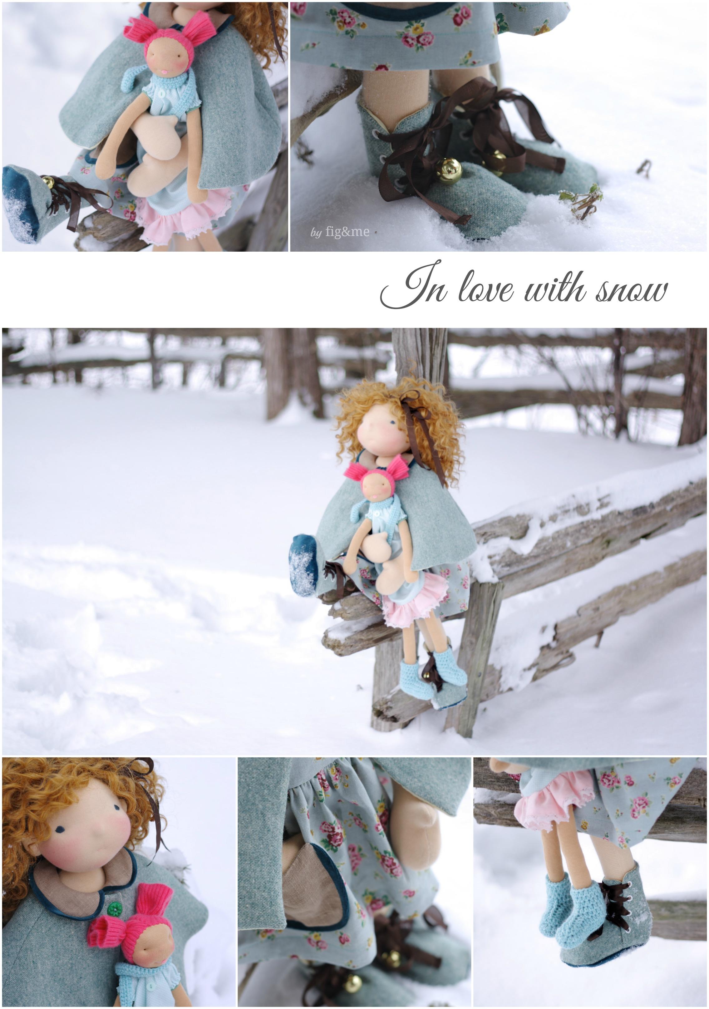 We love snow! by Fig&me.