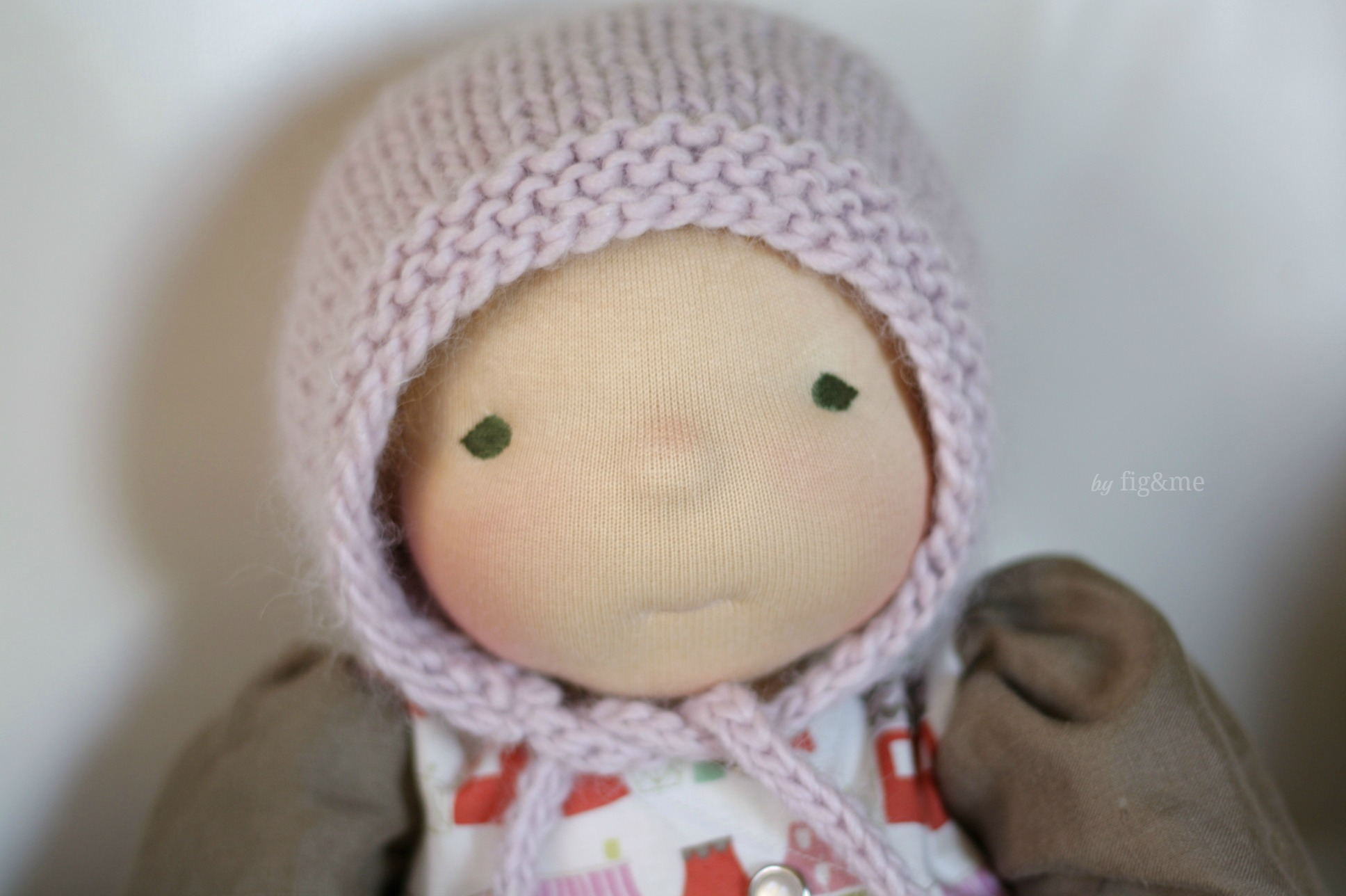 4a54da299029a Simply Baby Bonnet, a free knitting pattern. — fig & me