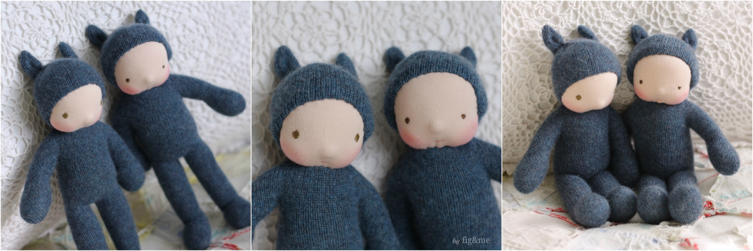 Wee Blue Babies, by Fig&me