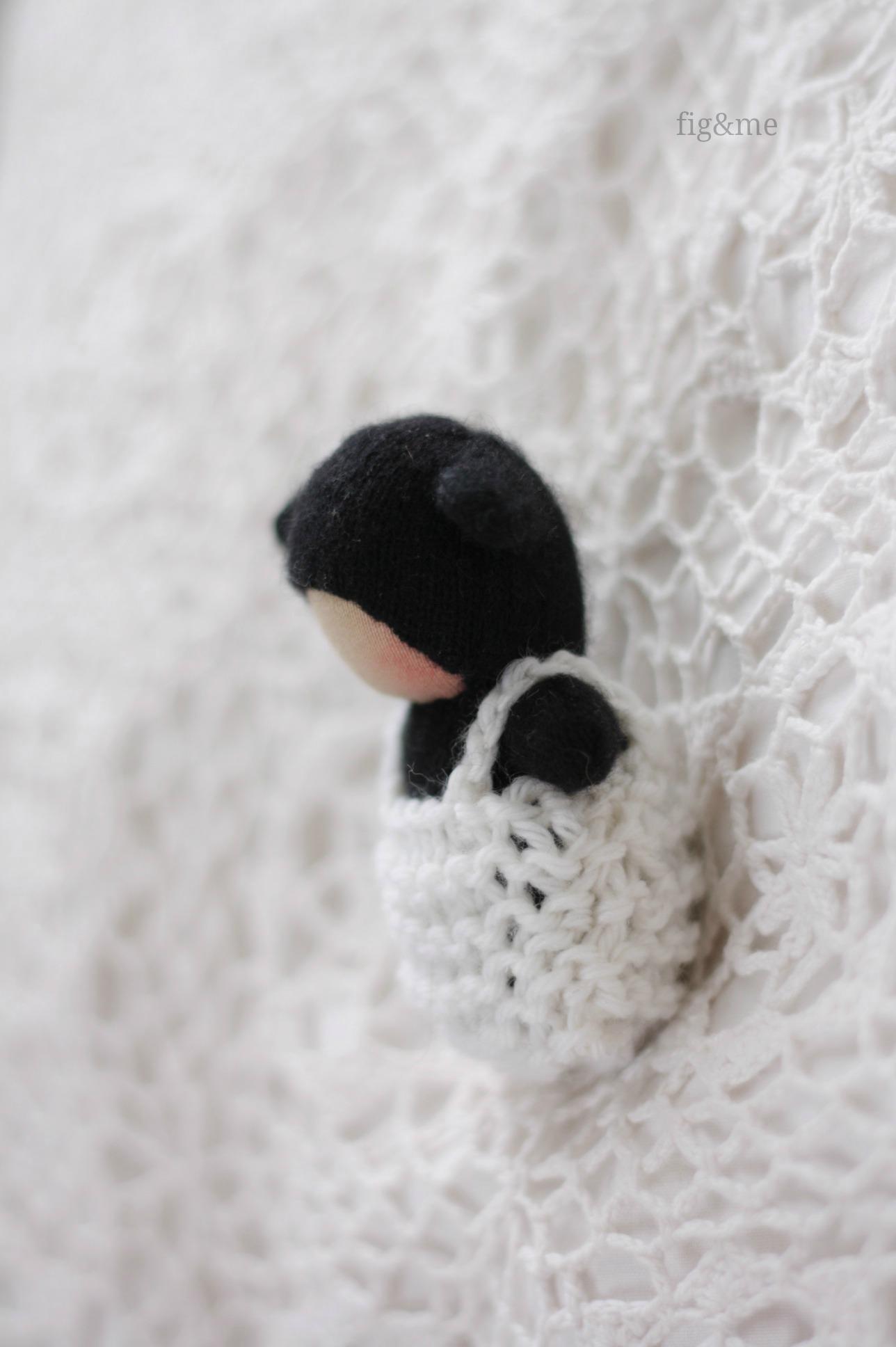 Little Black Lamb, by Fig&me
