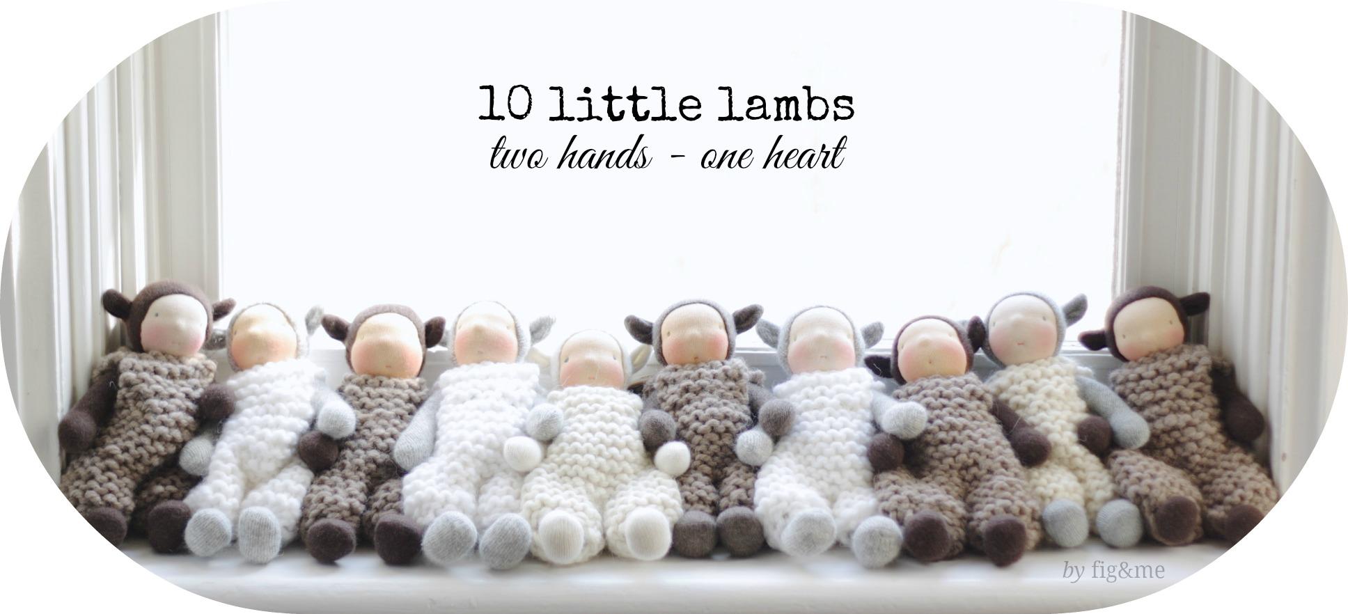 Ten little lambs, by Fig&me