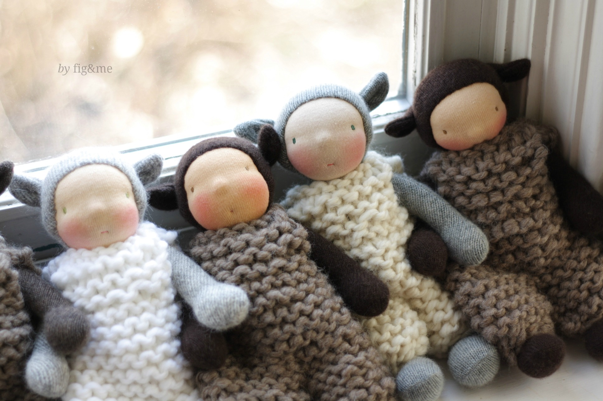 The little lambs, by Fig&me.