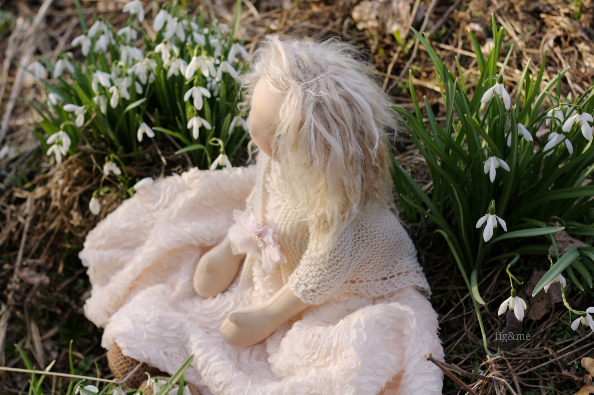 By the snowdrops, Fig&me.