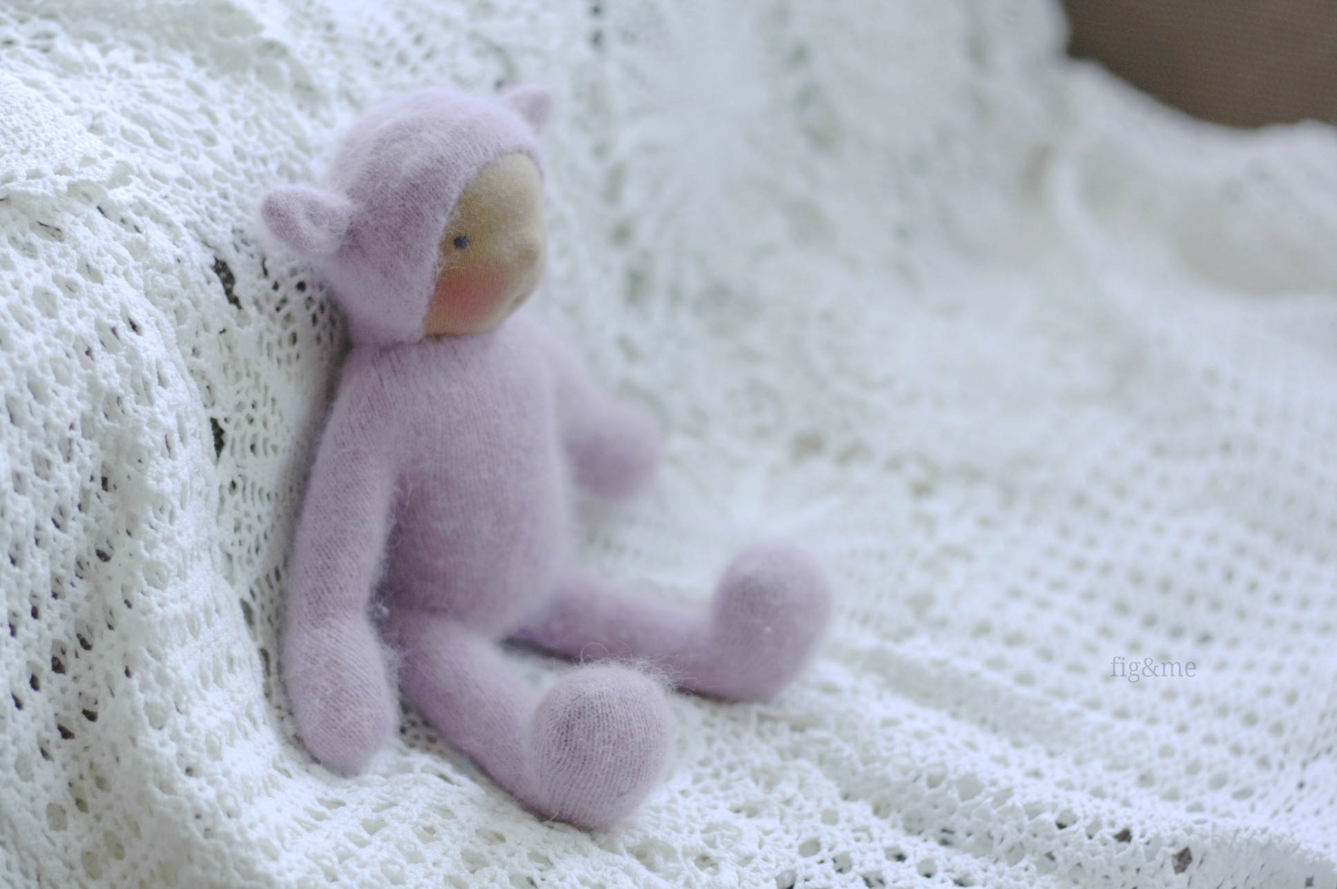 An angora Wee Baby, by Fig&me