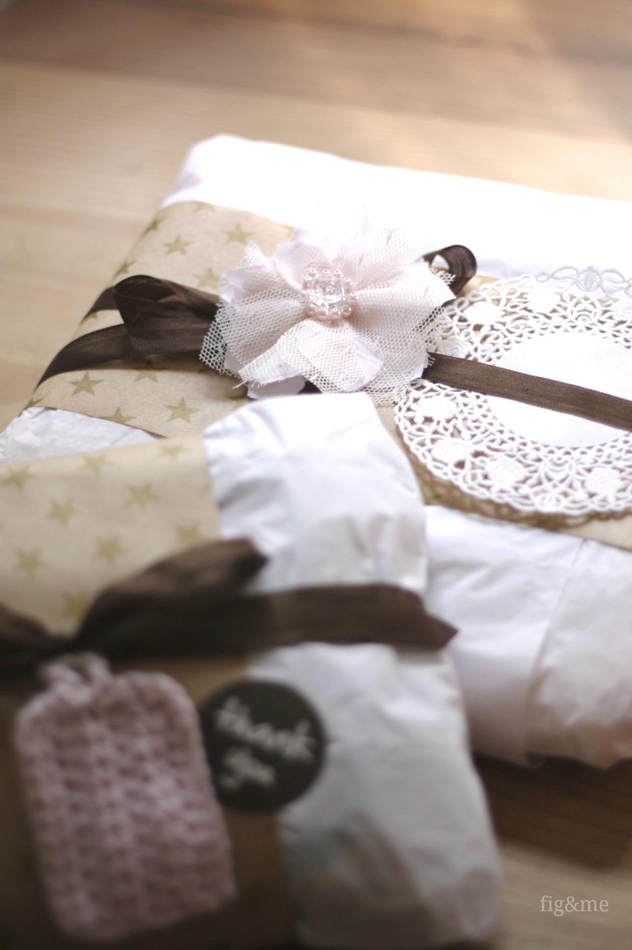 Handmade packaging, by Fig&me