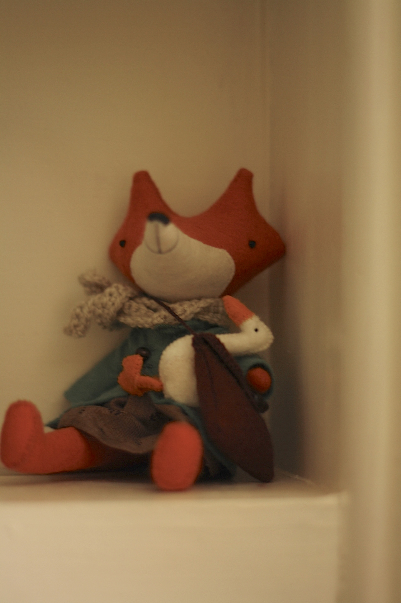 My Manomine fox, by Fig and Me.