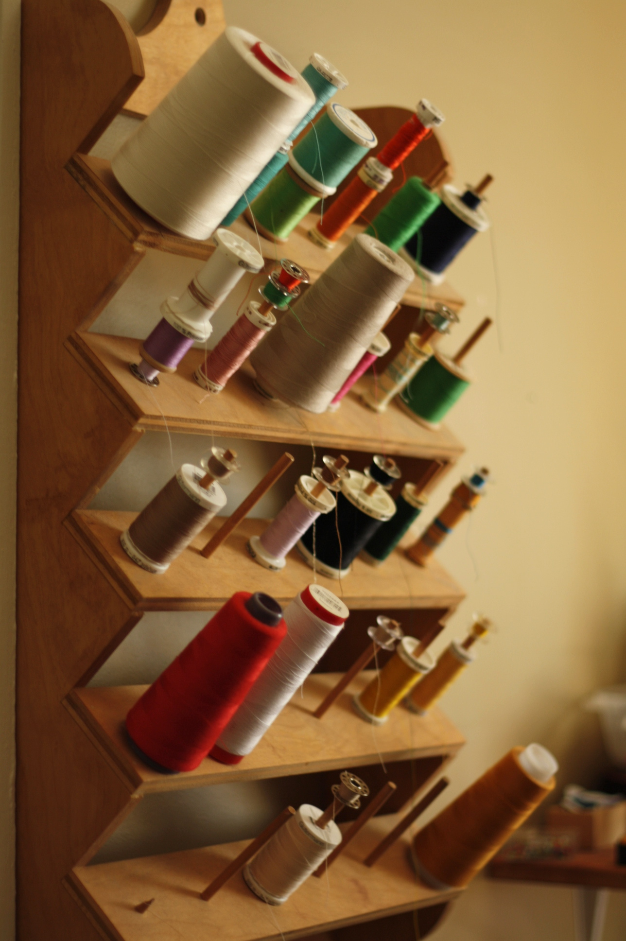 Sewing threads, by Fig and Me.