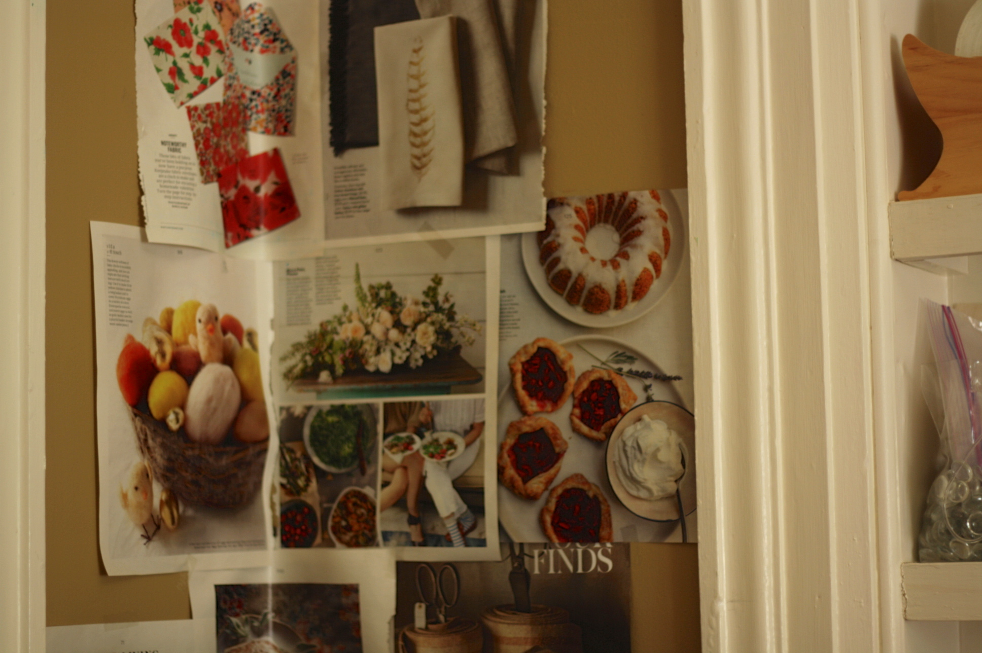 A corner of my walls, by Fig and Me.