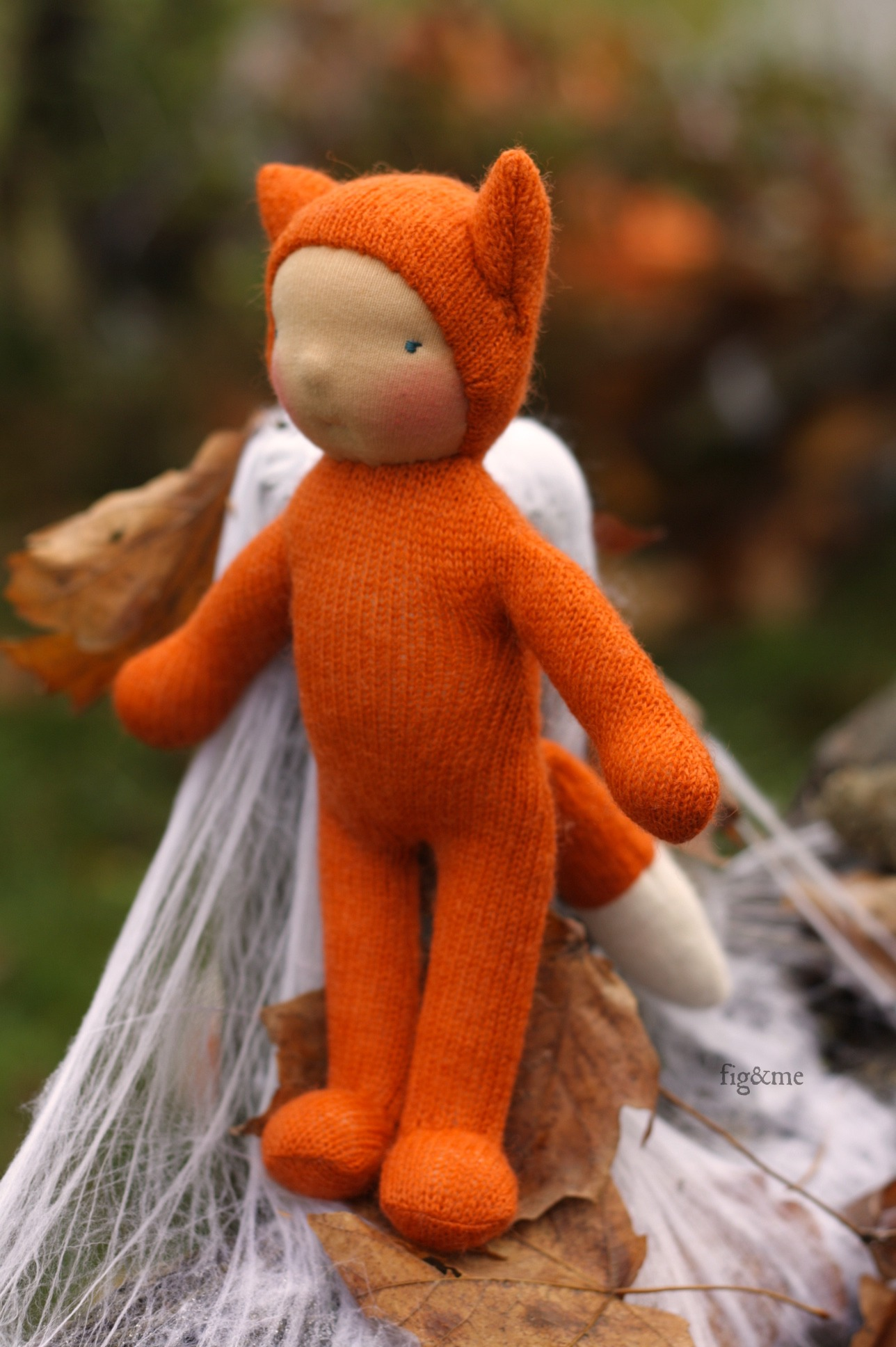 Wee Baby Fox by Fig and Me.