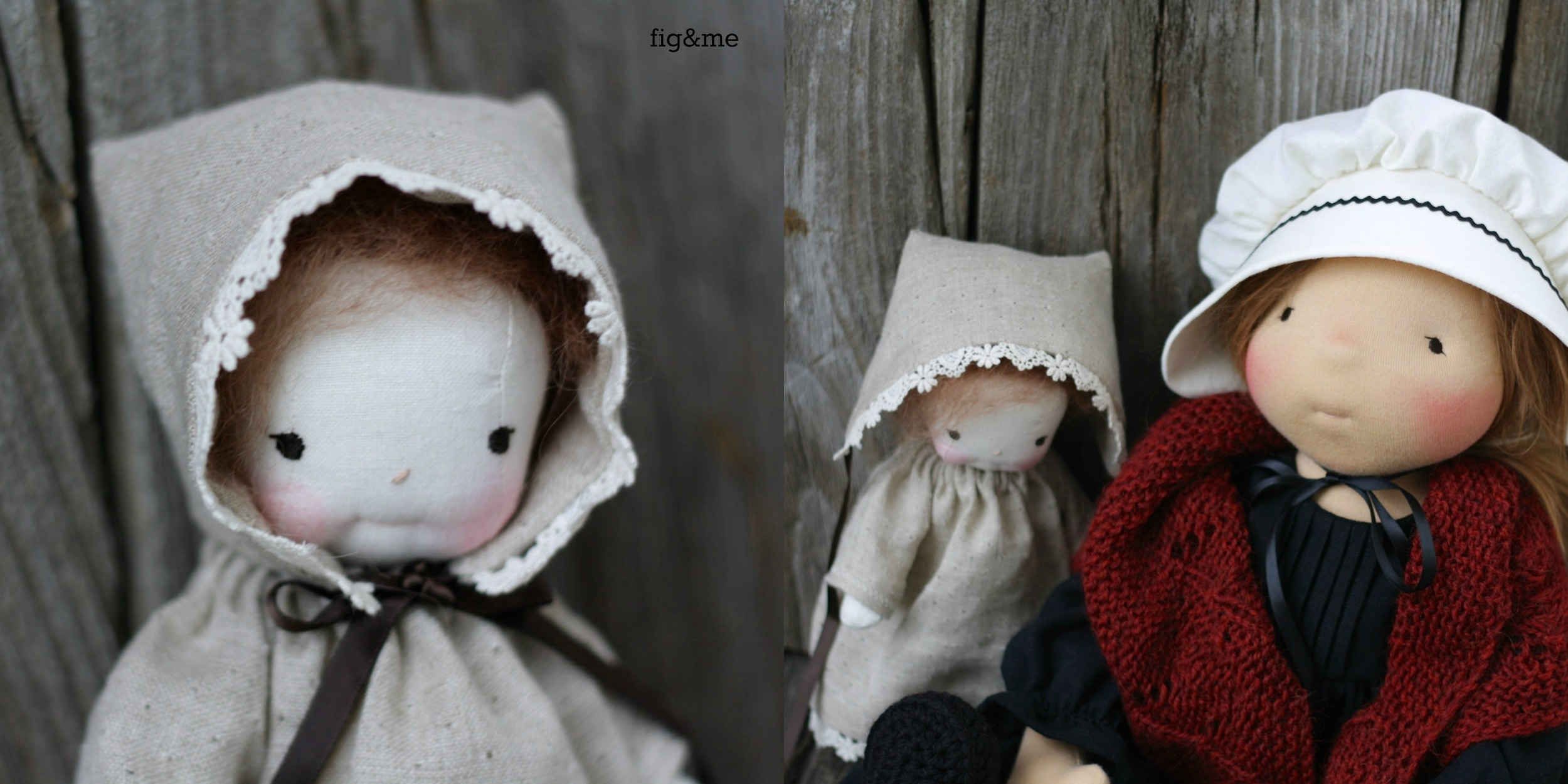Patootie is the most loved doll, by Fig and me.