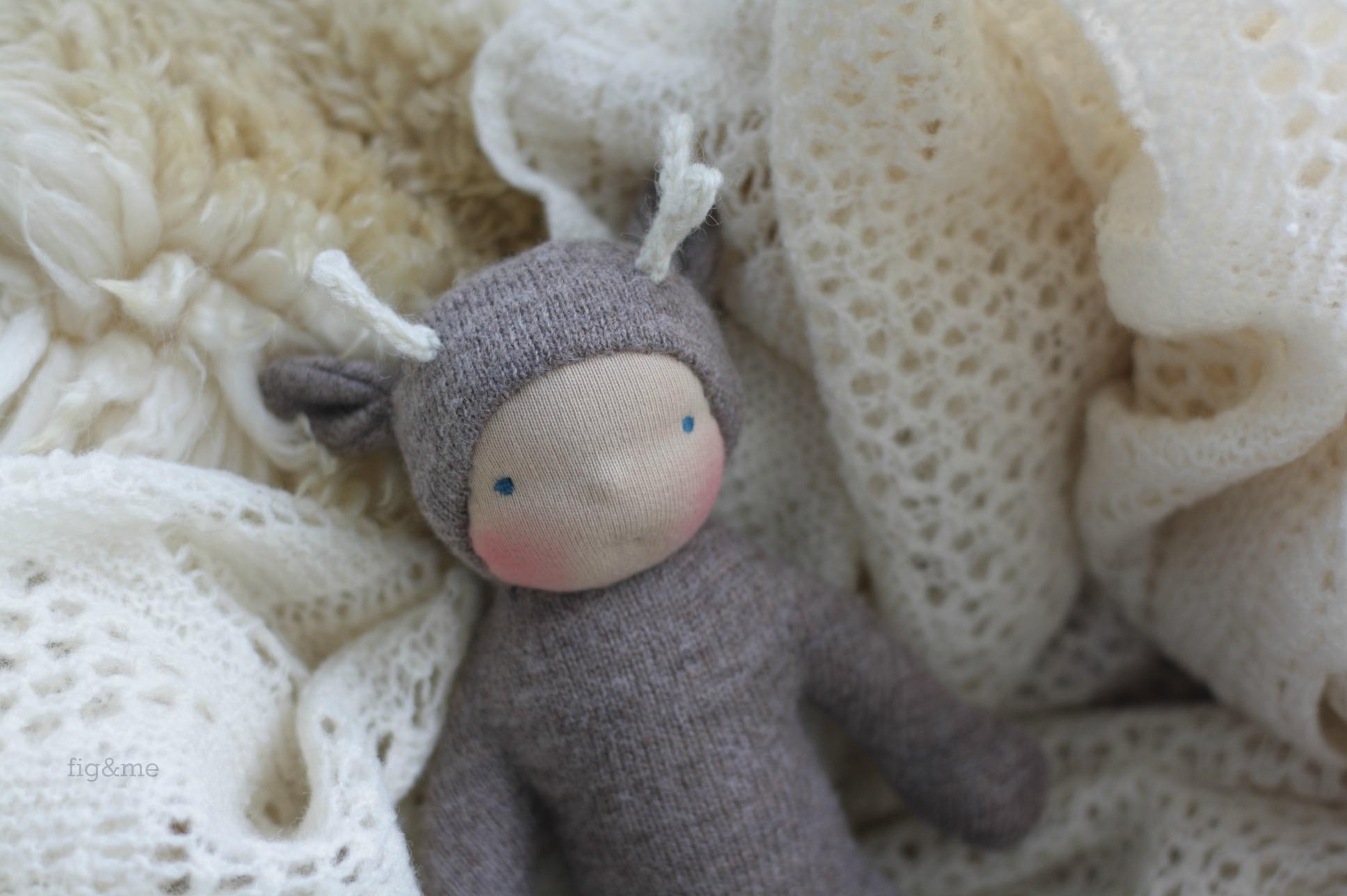 Oh Wee Baby Deer, by Fig and Me.