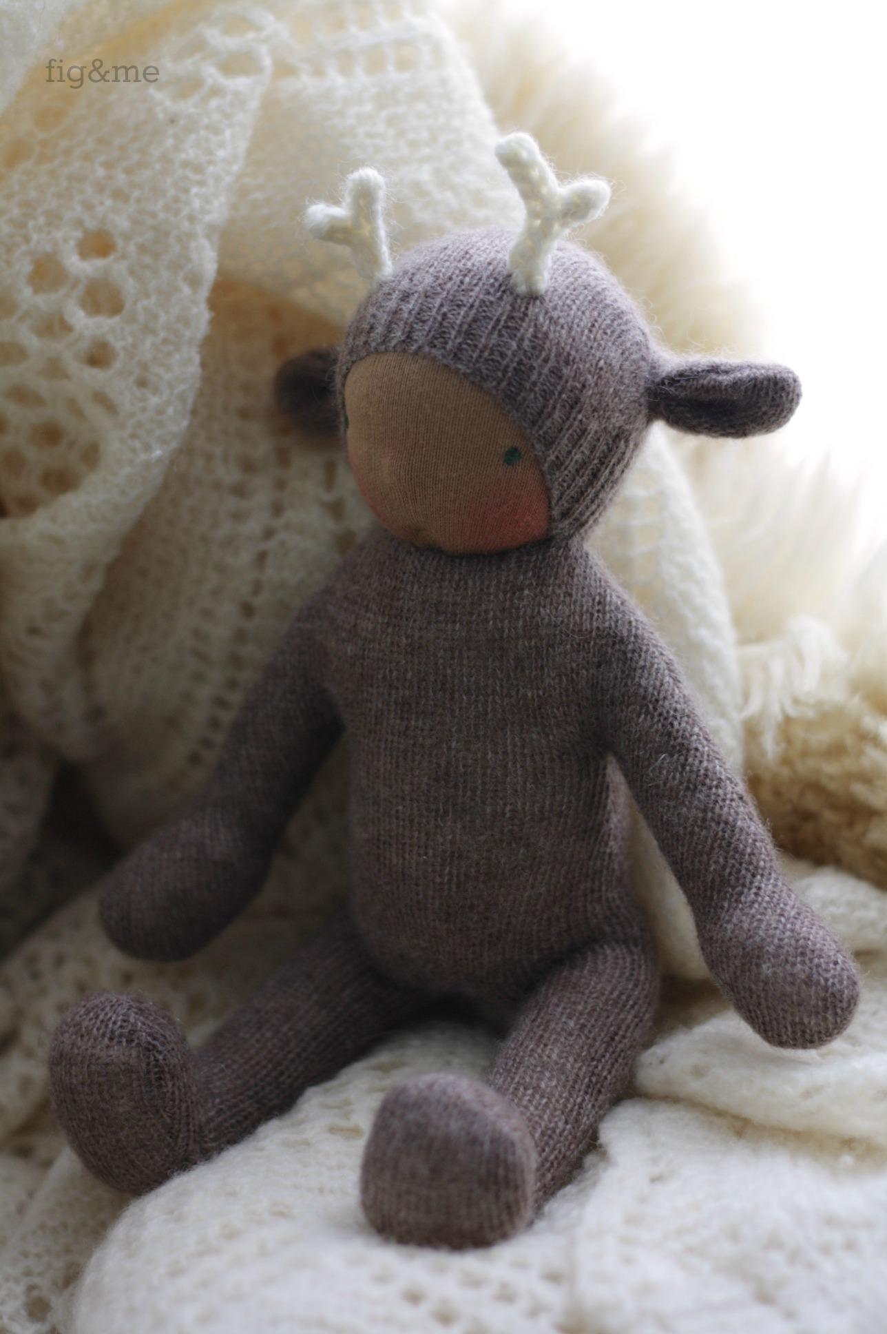 Wee Baby Deer, by Fig and Me.