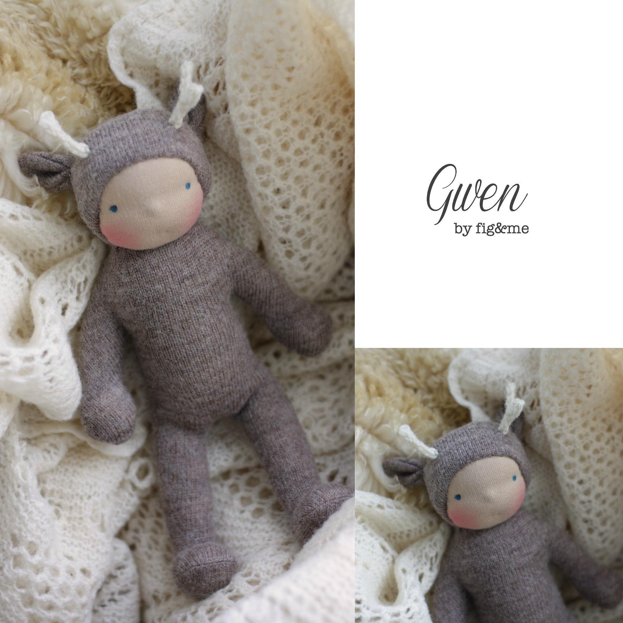 Wee Baby Deer by Fig and Me.