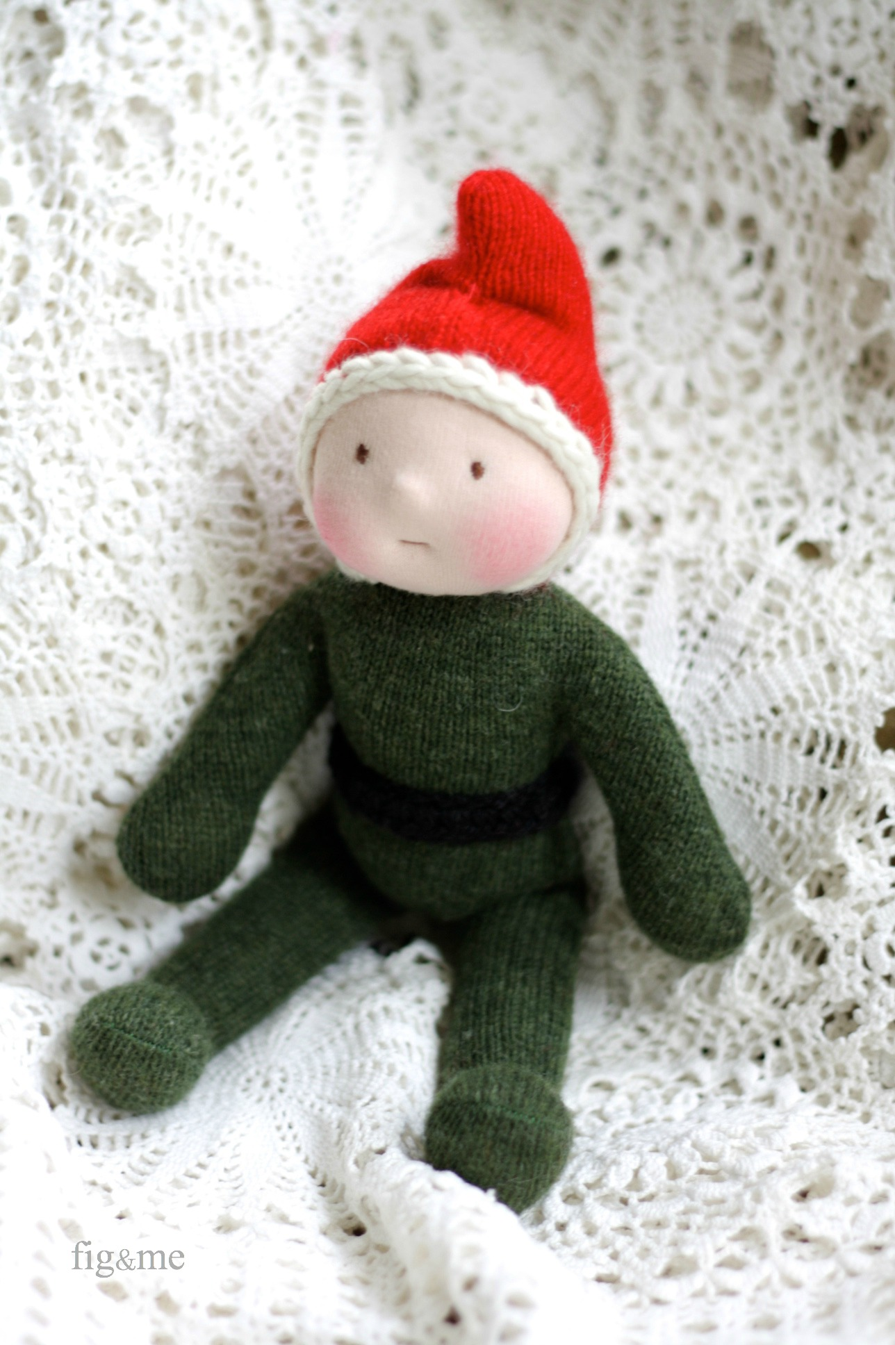 Elf time, by Fig and Me.