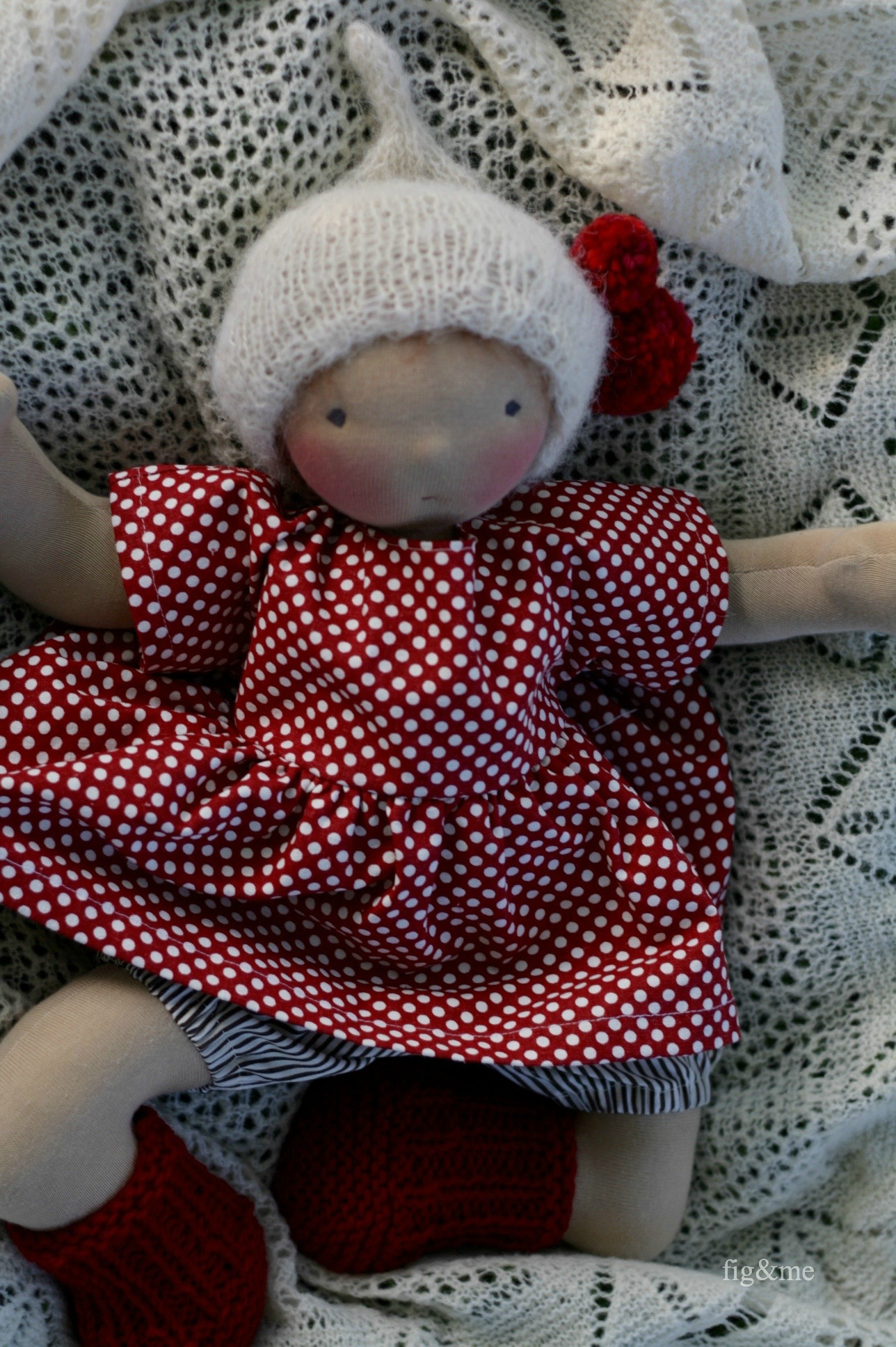 Rowanberry, a natural baby doll by Figandme.