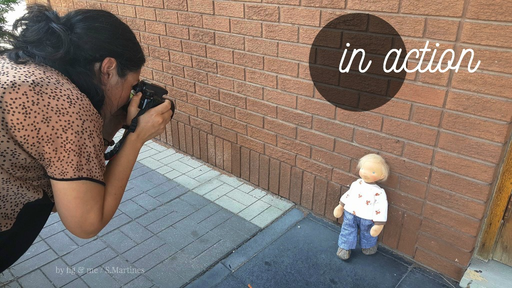 Snapping photos of Mr Precious, by Fig and Me.