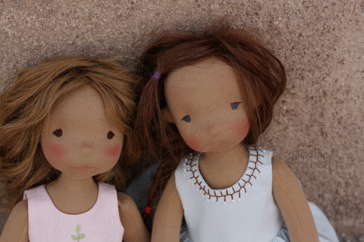 Renata and Asia, two Petite Figs by Fig and Me.