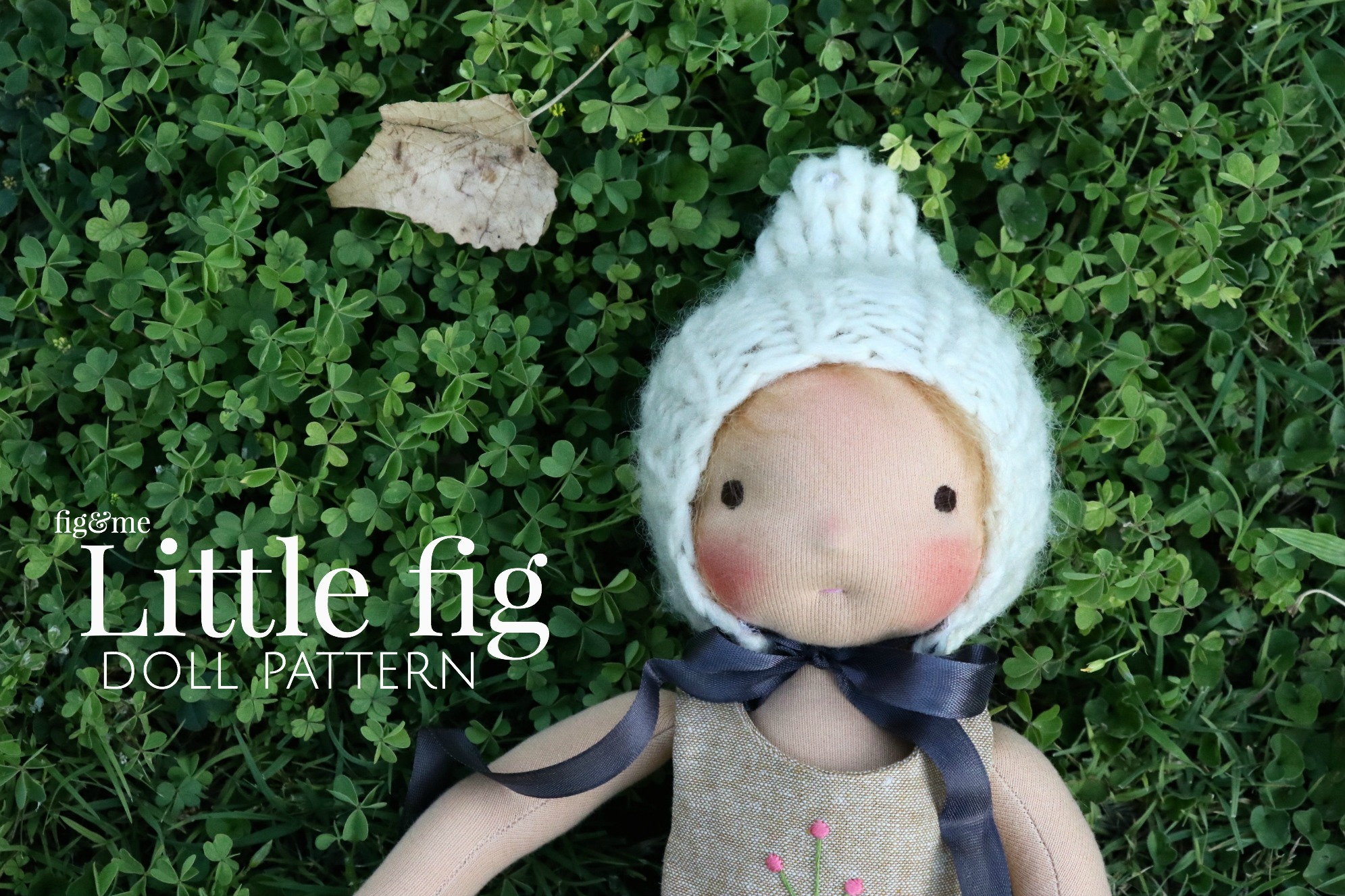 A waldorf-style dollmaking pattern by Fig and me.