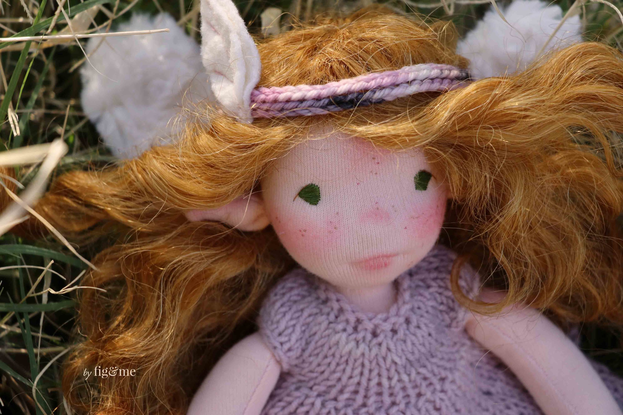 Beileag, a little fairy doll by Fig and me.