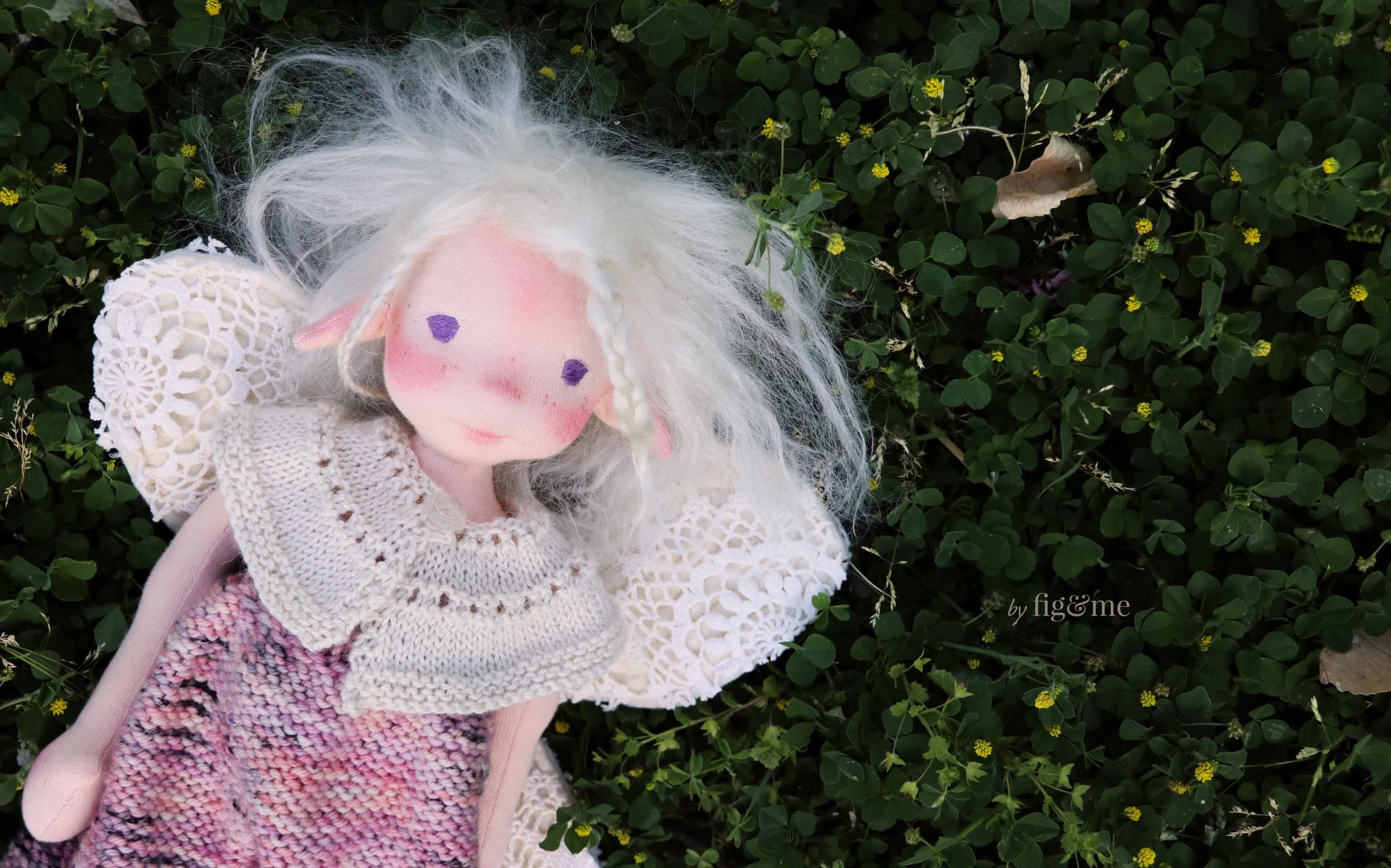 Maedhbhina, a spring fairy by Fig and Me.