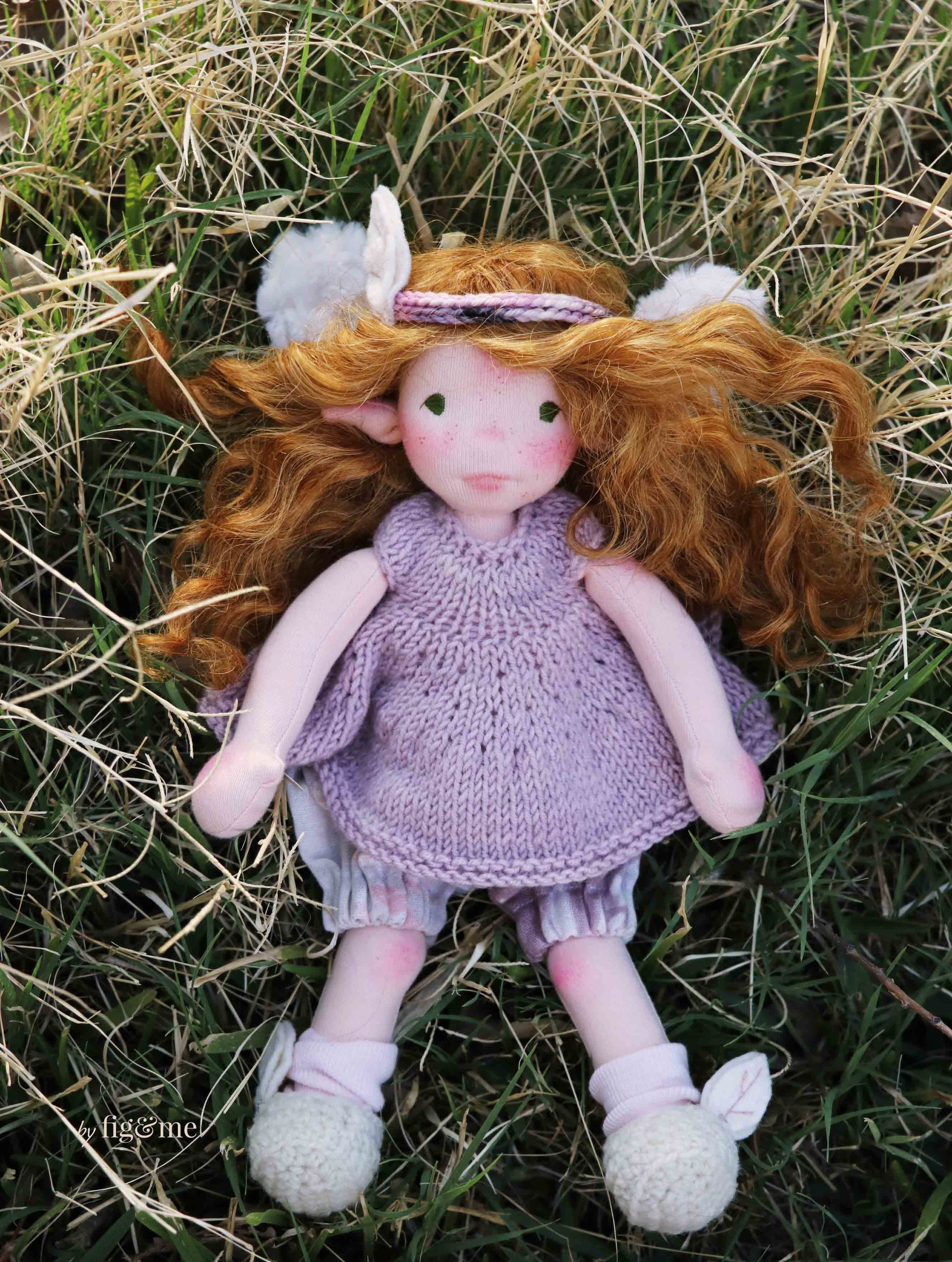 Beilead, a spring fairy doll by Fig and Me.